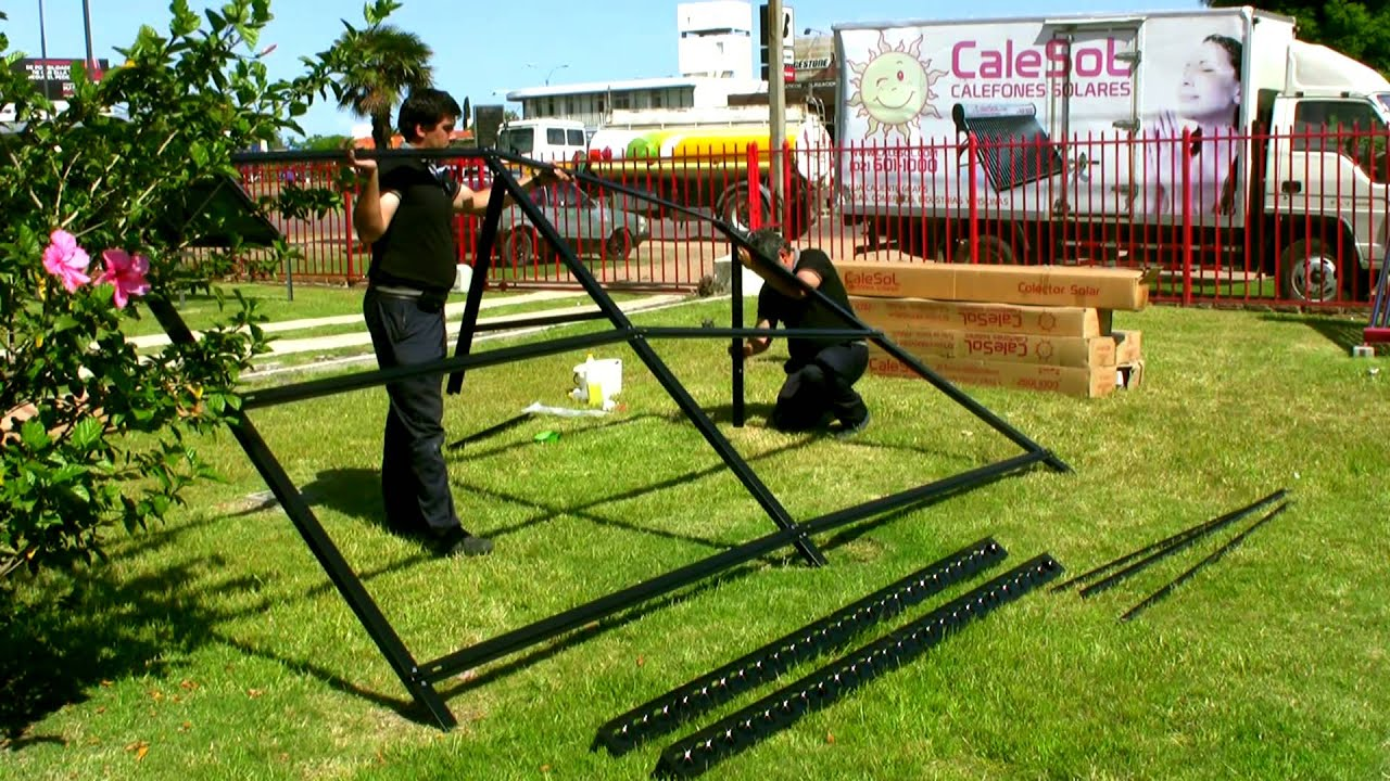Equipo solar para piscina youtube for Calentar agua piscina