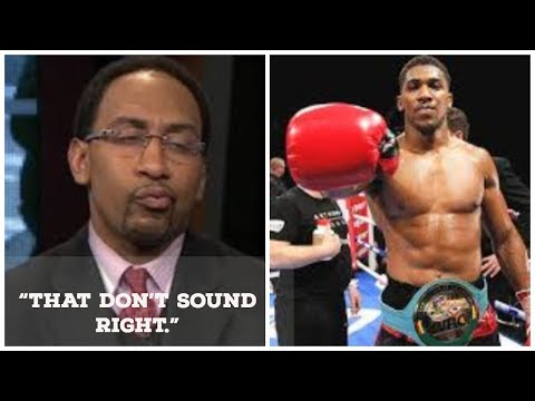 ANTHONY JOSHUA PULLS ONE ON  STEVEN A. SMITH |  DOESN'T MENTION $50,000,000 OFFER