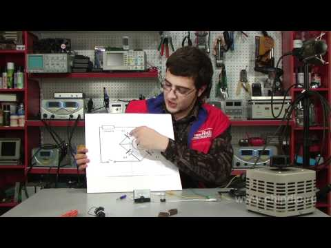 hook up amp meter circuit
