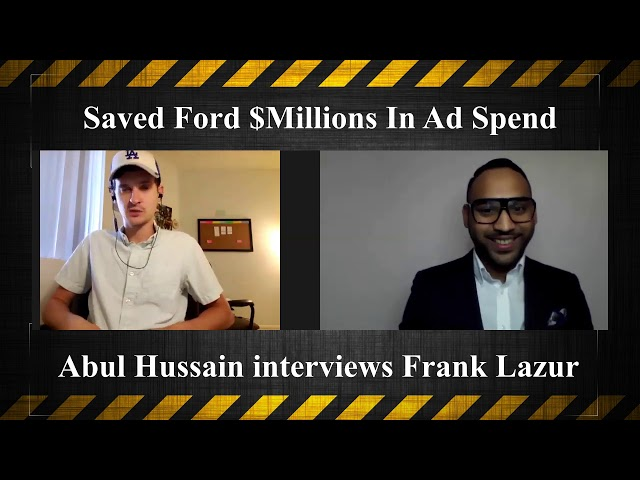 Saved Ford Millions In Ad Spend