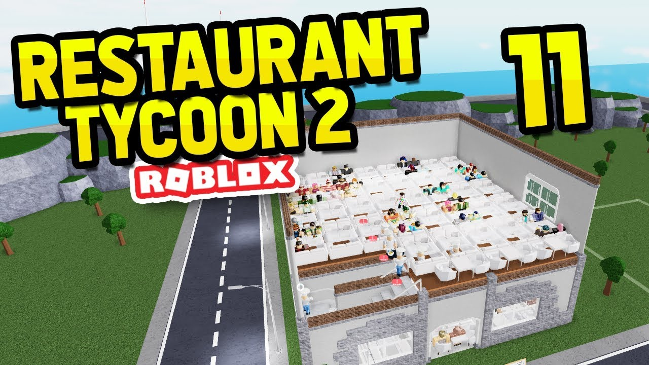 How To Place 260 Tables Restaurant Tycoon 2 11 Youtube