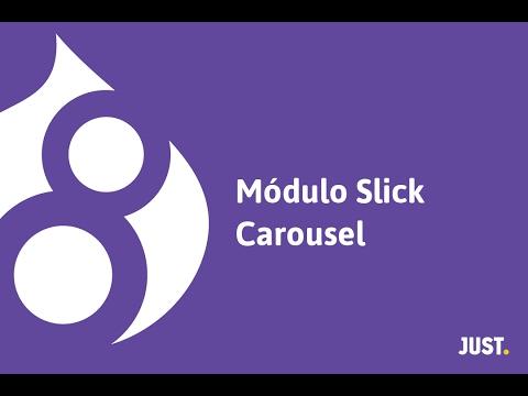 Drupal 8 - Módulo Slick Carousel