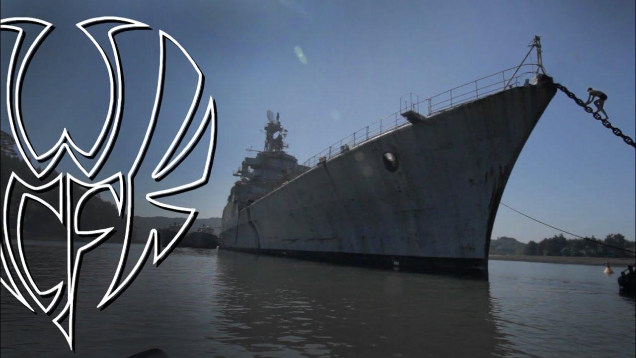 URBEX et PARKOUR illégal sur un navire militaire - YouTube