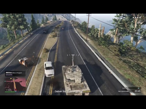 GTA V Online VIP gang with ashkan_OMP PART2