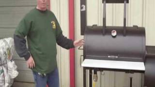 """Gator Pit of Texas 24"""" Party Gator Model BBQ Smoker Grill"""