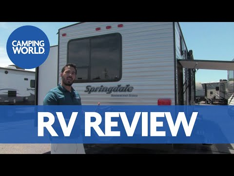 2017 Keystone Springdale Summerland 3030BH | Bunkhouse | Travel Trailer | Coffee