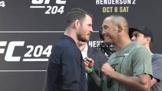 michael bisping vs gsp