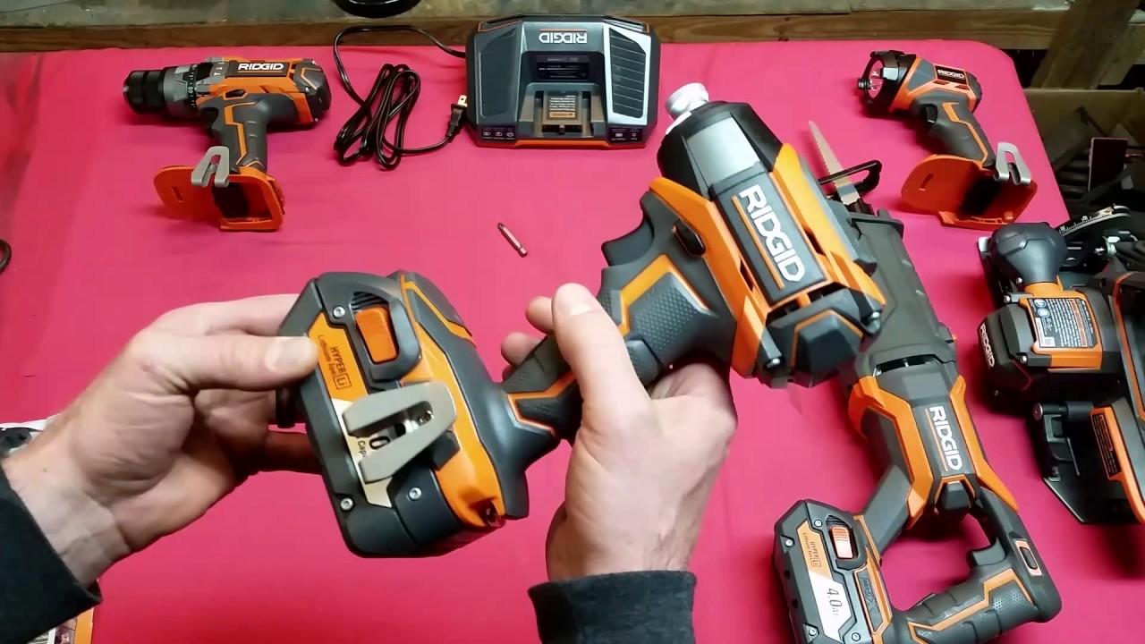 Ridgid Cordless Power Tools