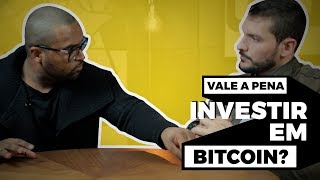 VALE A PENA INVESTIR EM BITCOIN? || Tiago Fonseca FEAT. Bruno Perini