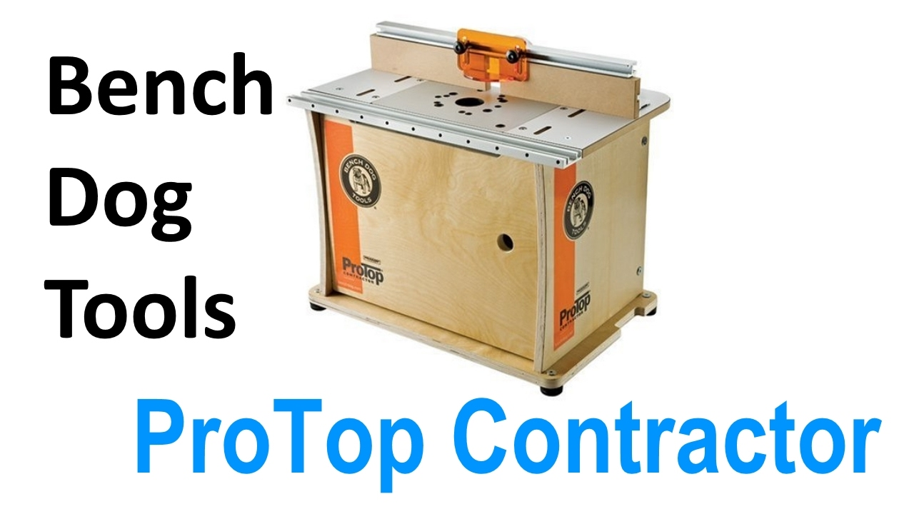 Bench Dog 40 001 Protop Contractor Benchtop Router Table