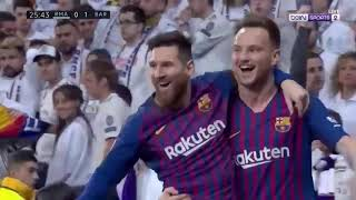 Real Madrid vs FC Barcelona 0-1 Highlights & All Goals English Commentary  (02/03/2019)