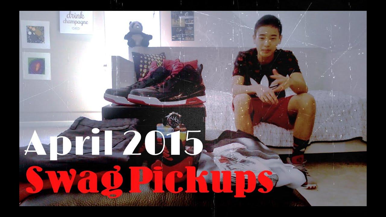 April 2015 Swag Haul! (Jordan Flight 9.5 + On foot, Nike, Fossil, Guess) -  YouTube