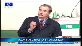 21st Century Africa Will Drive World Economy- Vincente Fox Pt.6