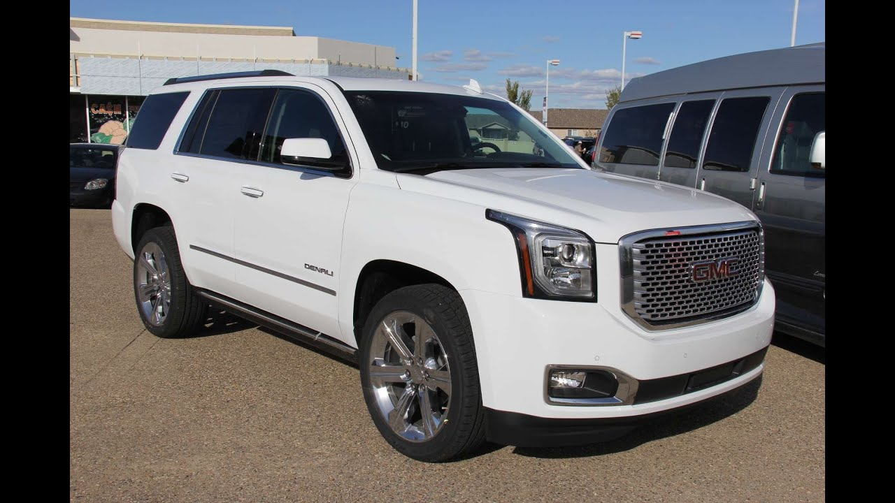 for sale 2015 yukon denali white autos post. Black Bedroom Furniture Sets. Home Design Ideas