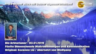 Die Arkturianer - 5. Dimensionale Wahrnehmungen und Kommunikation - durch Suzanne Lie