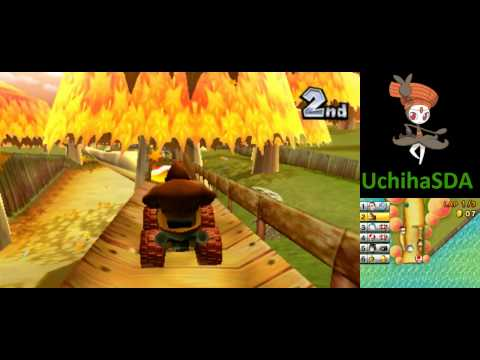 Mario Kart 7: Online Races with Donkey Kong [HD]