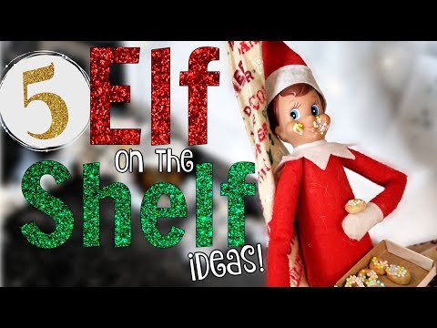 ELF ON THE SHELF ideas for the Kitchen!
