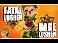 SUMMONERS WAR : Fatal -vs- Rage Lushen