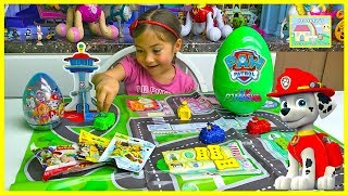 Nickelodeon Paw Patrol Game for Kids with Surprise Toys Prizes!
