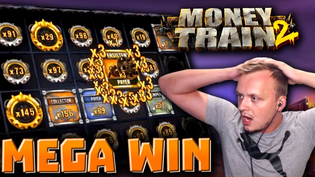 HUGE WIN on Money Train 2!
