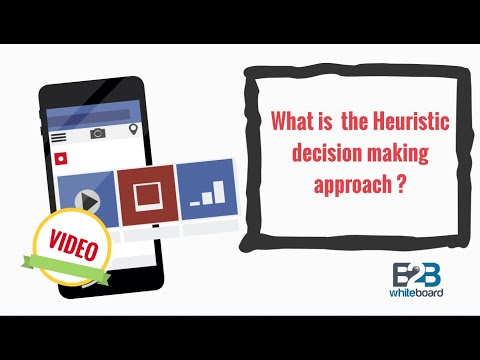 What is  the Heuristic decision making approach ?