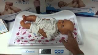 Как взвесить ребенка! Правильно взвешиваем новорожденного малыша!