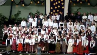 Garezers 2009 izlaiduma vidusskolu Concerts - Mammu es gribu