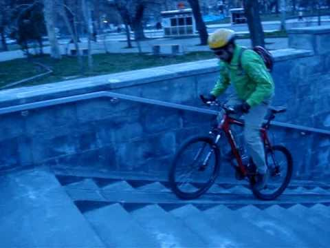 Underground Bike Riding Armenia Yerevan