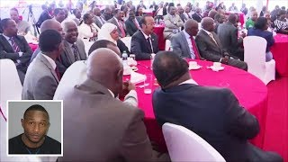 JUBILEE PG MEETING AT STATE HOUSE ENDORSE UHURU KENYATTA'S 8% VAT ON PETROLEUM PRODUCTS