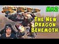 New Dragon Behemoth with 4x Dragoons Mk2 - War Robots LIVE Gameplay WR