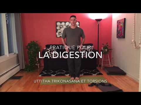 7 postures pour favoriser la digestion