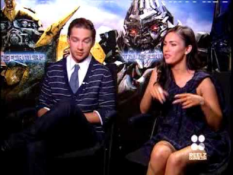 Uncut Transformers Interview with Megan Fox & Shia LaBeouf ...