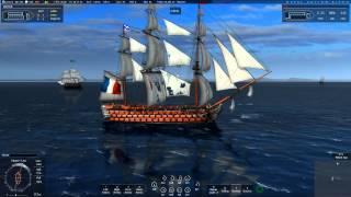 Naval Action: Trafalgar! (Ft. Santisima Trinidad and a lot of SOLs)