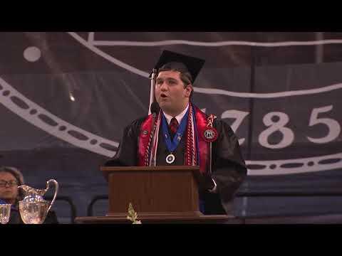UGA Spring Undergraduate Commencement Student Speaker - Hunter Glenn Smith