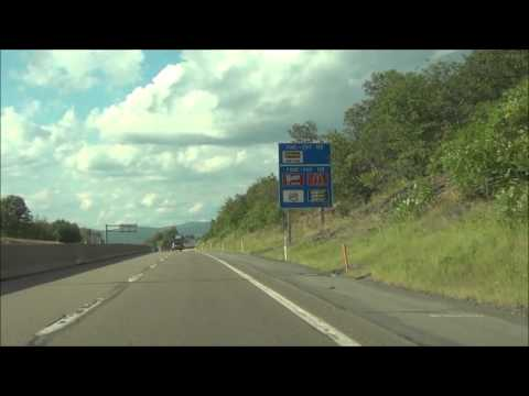 Pennsylvania - Interstate 476 North (PA Turnpike Northeast Extension) - MM 110-120 ( 8/10/15)