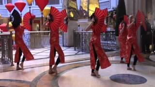 Grand Canal Shoppes - Chinese Lunar Fan Dance