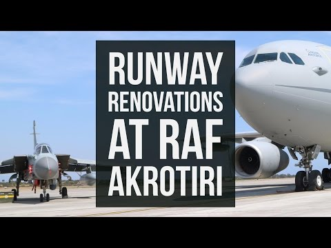 Runway Renovations at RAF Akrotiri