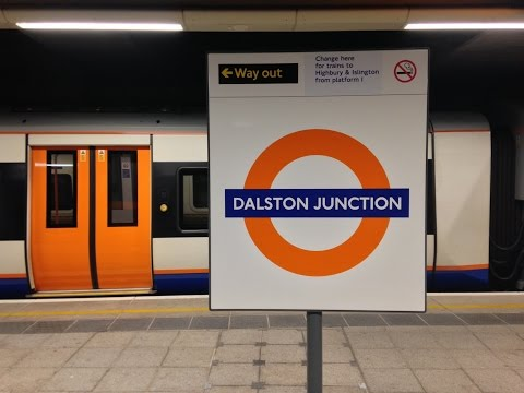 Full Journey on London Overground from New Cross to Dalston Junction