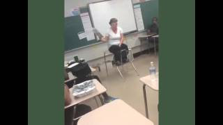 Video Teacher rapping to Dr. Seuss book in class download MP3, 3GP, MP4, WEBM, AVI, FLV April 2018