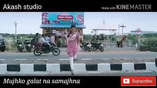Heart touching 2018 New WhatsApp sad status video Mujhko galat na samajhna