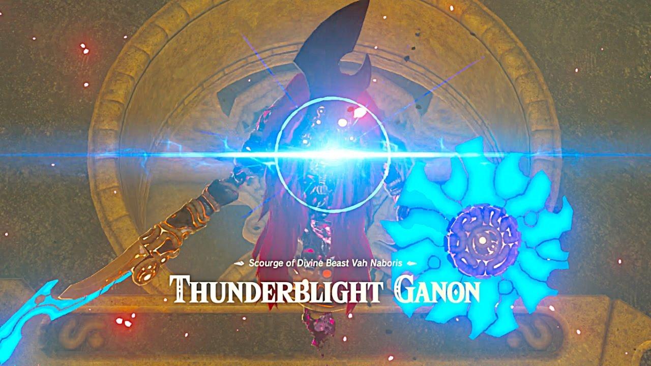 Breath Of Wild Walkthrough >> THUNDERBLIGHT GANON - YouTube