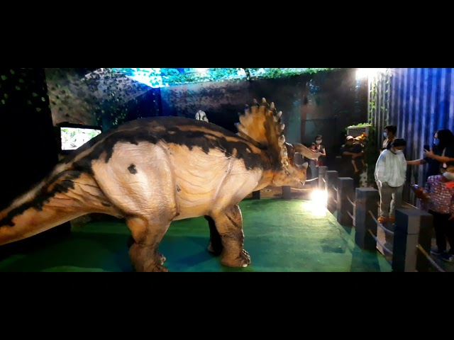Berjumpa Dinosaurus Di Dino Venture Aeon Mall Youtube