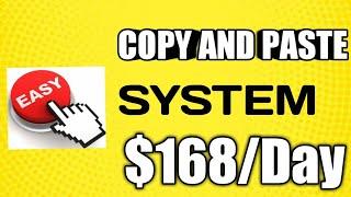 Paano Kumita Ng $168 A DAY By Just Copy and Paste sa Isang Simple Strategy