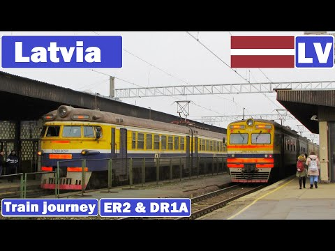 Latvian passenger trains 2017