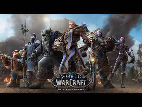 World of Warcraft: Battle for Azeroth 8.0.1 #1 Пал пвп стрим! делаем достижения