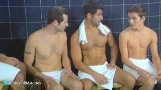 vuclip Twink in the steam room - Steam Room Stories.com