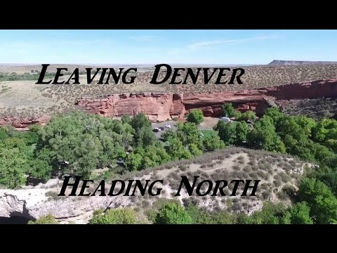 Leaving Denver Heading North VanLife On the Road