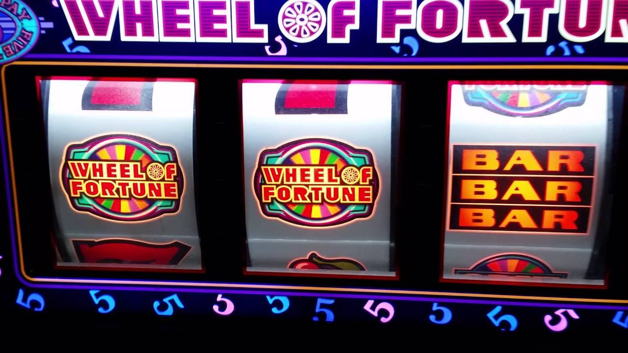 High Limit Slot Machine Jackpot - Wheel of Fortune Hand