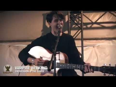 Vampire Weekend - Diane Young (Live On Endsessions 2013)