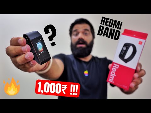 Redmi Band Unboxing & First Look - Only 1000Rs!!! Best Fitness Band - India Launch Soon 🔥🔥🔥
